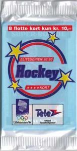 1 Pack 1992-93 Norwiegan Elitserien