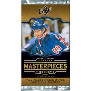 1st Paket 2014-15 Upper Deck MasterPieces