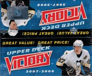 Sealed Box 2007-08 Upper Deck Victory