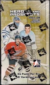 Hel Box 2007-08 ITG Heroes & Prospects Hobby