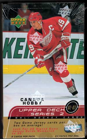 Hel Box 2002-03 Upper Deck s.2 Canadian Hobby