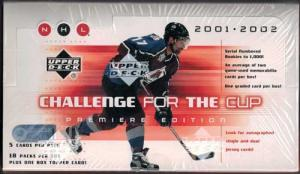 Hel Box 2001-02 UD Challenge For the Cup