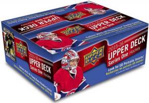 Hel Box 2015-16 Upper Deck Serie 1 RETAIL