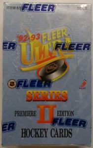Hel Box 1992-93 Fleer Ultra s.2 [Plasten runt boxen i vissa fall skadad]