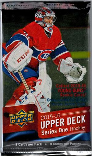1st Paket 2015-16 Upper Deck s.1 Retail