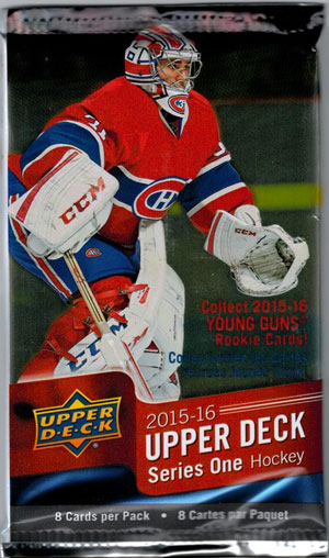 1 Pack 2015-16 Upper Deck s.1 Retail