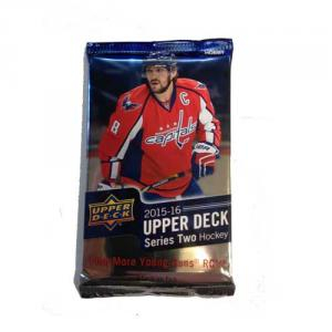 1 Pack 2015-16 UPPER DECK SERIE 2 HOBBY