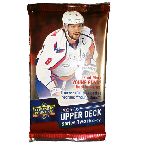 1 Pack 2015-16 UPPER DECK SERIE 2 RETAIL