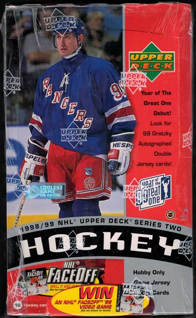 Sealed Box 1998-99 Upper Deck Series 2 Hobby