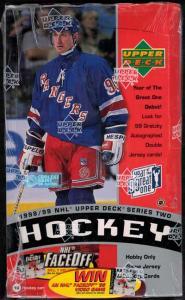 Hel Box 1998-99 Upper Deck serie 2 Hobby