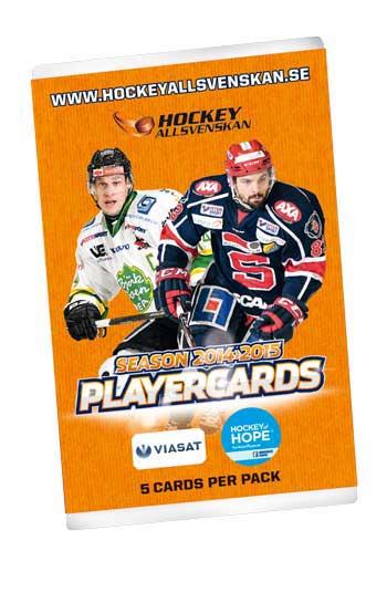1 Pack 2014-15 HockeyAllsvenskan Master Edition