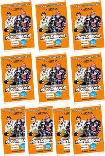 10 Packs 2014-15 HockeyAllsvenskan Master Edition