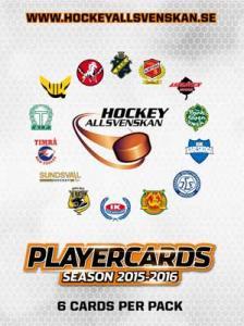 1 Pack 2015-16 HockeyAllsvenskan
