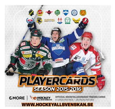 Sealed Box 2015-16 HockeyAllsvenskan