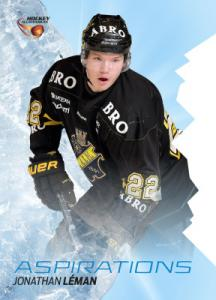 Aspirations 2015-16 HockeyAllsvenskan #AS03 Jonathan Léman