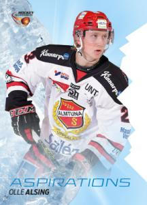 Aspirations 2015-16 HockeyAllsvenskan #AS05 Olle Alsing