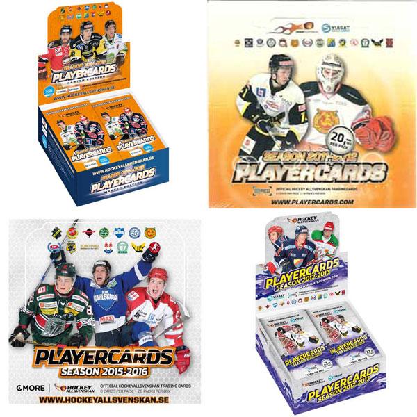 Hockeyallsvenskan x 4 different boxes (11-12, 12-13, 14-15 & 15-16)