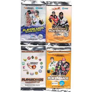 Hockeyallsvenskan x 4 different packs (11-12, 12-13, 14-15 & 15-16)