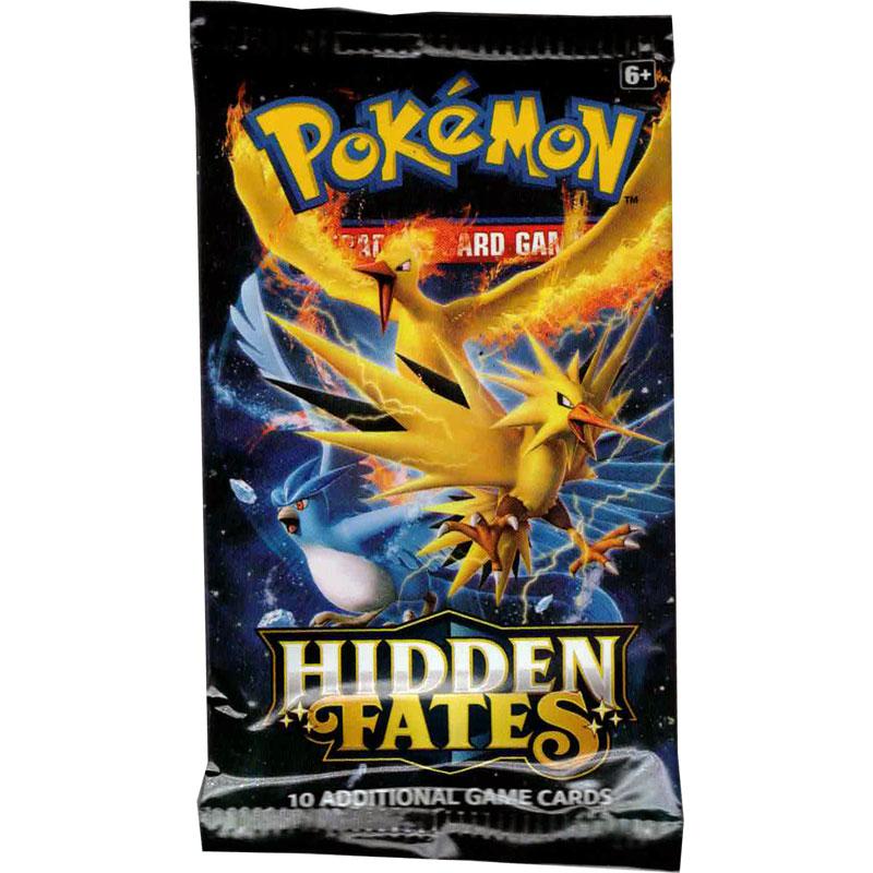 Pokémon, Hidden Fates, 1 Booster (Random artwork på boostern)