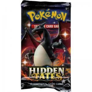 Pokémon, Hidden Fates, 1 Booster (Charizard Art)