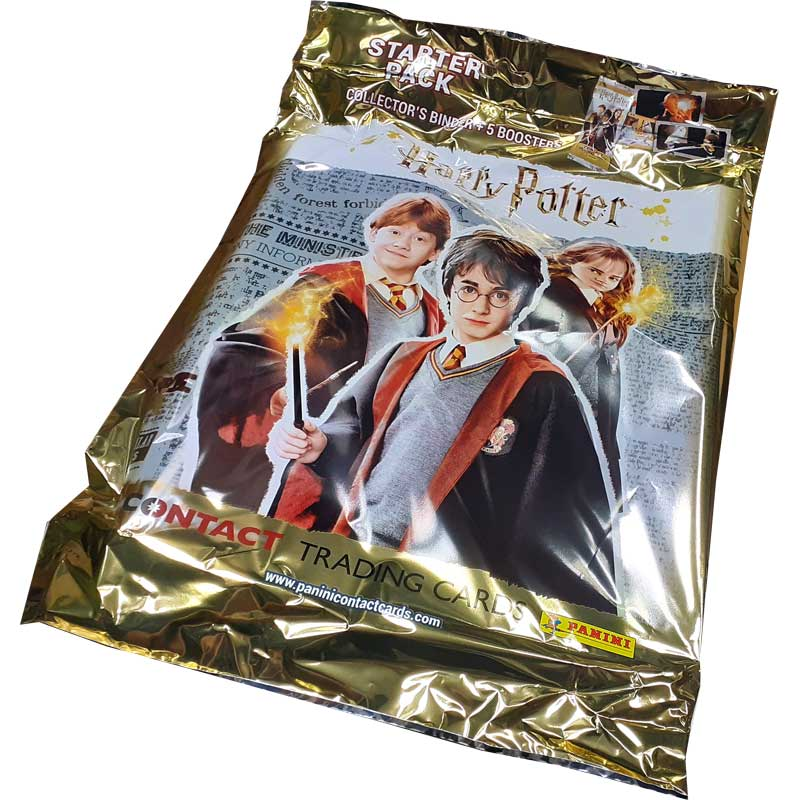 Harry Potter Contact Trading Cards (Panini), Starter Pack