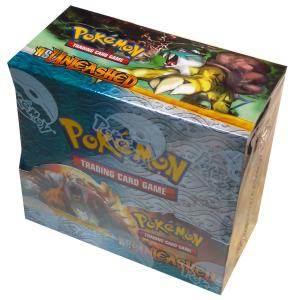 Pokemon, HS Unleashed, Display / Booster Box (36 boosters)