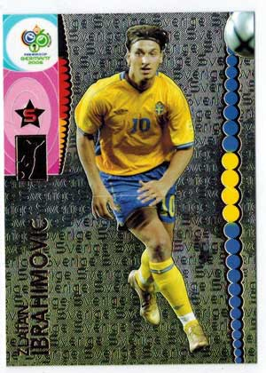 Panini World Cup 2006 #177 Zlatan Ibrahimovic