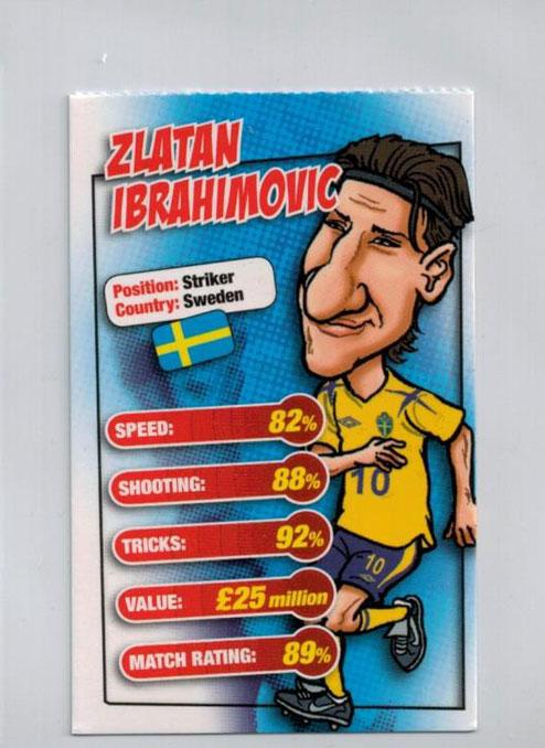 Zlatan Ibrahimovic, Match