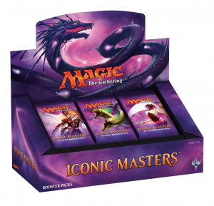 Magic, Iconic Masters 2017, 1 Display (24 Boosters)