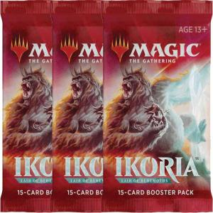 Magic, Ikoria: Lair of Behemoths, 3 Boosters