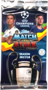 Pack 2017-18 Topps Match Attax Champions League (International Edition)