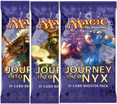 Magic, Journey into Nyx, 3 Boosters