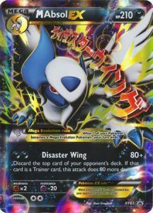 JUMBO XY Promo Cards,  Mega Absol EX - XY63 - Ultra Rare