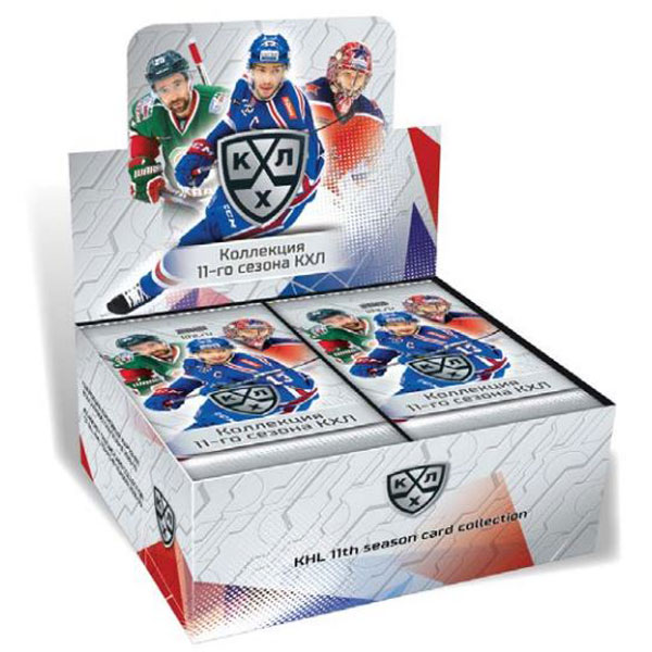 Sealed Box 2018-19 KHL 11th Season - BASIC