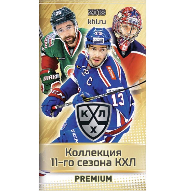 1 Pack 2018-19 KHL 11th Season - PREMIUM
