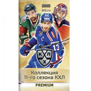 1 Pack 2018-19 KHL 11th Season - PREMIUM