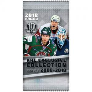 1st Paket 2008-18 KHL Exclusive Collection