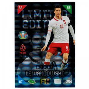 Adrenalyn Euro 2021 (Kick Off) - Robert Lewandowski (Poland) - Limited Edition