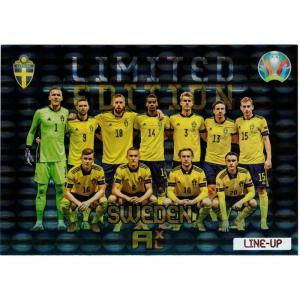 XXL Adrenalyn Euro 2021 (Kick Off) - Line Up Sweden - XXL Limited Edition (Large card)