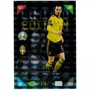Adrenalyn Euro 2021 (Kick Off) - Zlatan Ibrahimovic [With Ball] (Sweden) - Limited Edition