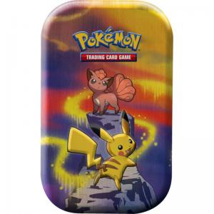 Pokémon, Kanto Power Mini Tin - Pikachu & Vulpix