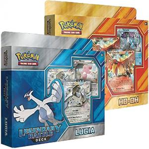Pokémon, Legendary Battle Decks x 2 (Ho-Oh + Lugia EX)