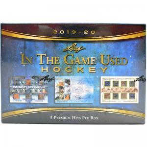 Hel Box 2019-20 Leaf In The Game Used Hockey