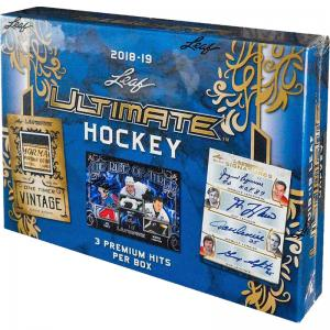 Hel Box 2018-19 Leaf Ultimate Hockey Hobby
