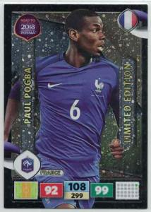 Paul Pogba - France, Limited Edition, Panini Road To World Cup Russia 2018