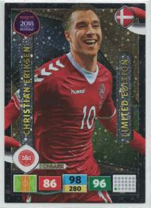Christian Eriksen - Denmark, Limited Edition, Panini Road To World Cup Russia 2018