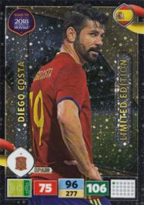 Diego Costa - Spain, Limited Edition, Panini Road To World Cup Russia 2018