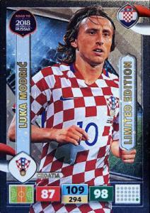 Luka Modric - Croatia, Limited Edition, Panini Road To World Cup Russia 2018