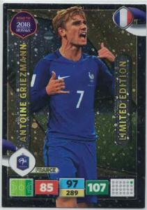 XXL Antoine Griezmann - France, Limited Edition, Panini Road To World Cup Russia 2018 (Large card)