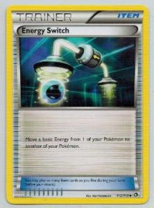 Pokemon, Legendary Treasures, Energy Switch - 112/113 - Uncommon